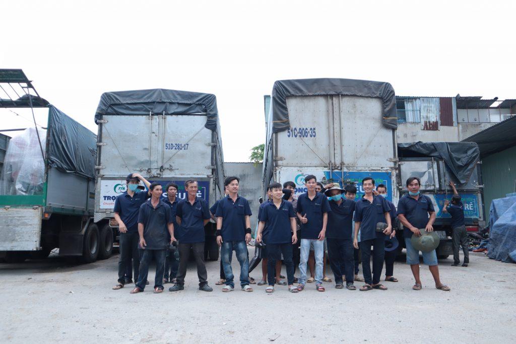 Nhà xe ghép hàng Sài Gòn đi Cần Thơ