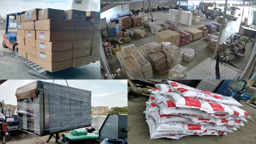 Các mặt hàng vận chuyển Sài Gòn Kiên Lương