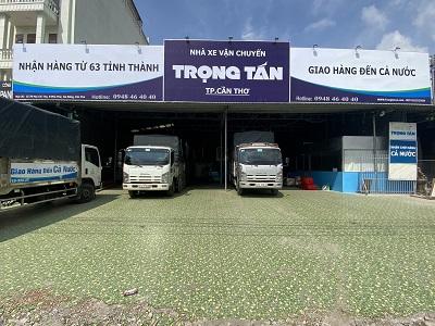 Chành Xe Cần Thơ Đi Sài Gòn kho bãi rộng rãi