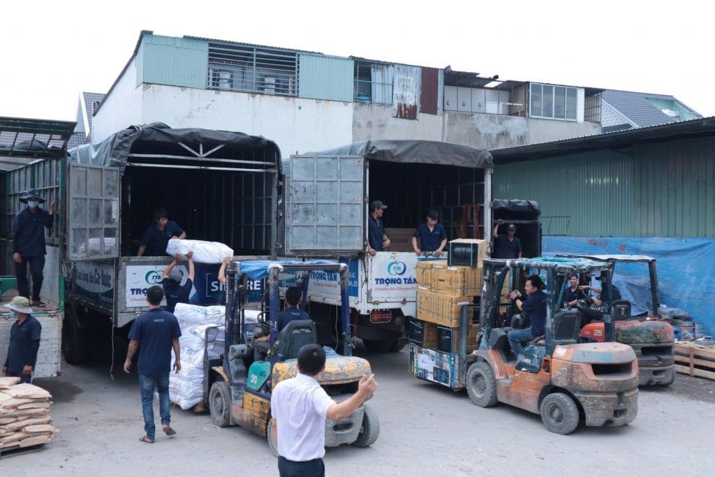 Chành xe gửi hàng Sài Gòn đi Quảng Nam