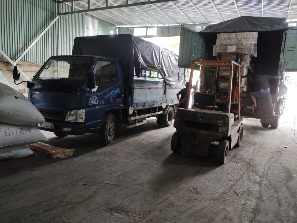 Ghép Hàng Từ Đà Nẵng Đi Hà Nội hàng ghép được vận chuyển ghép lên xe