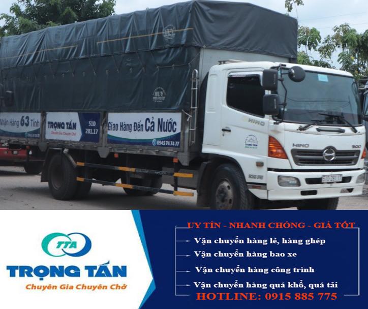 Ghép hàng từ Long An đi Ninh Thuận