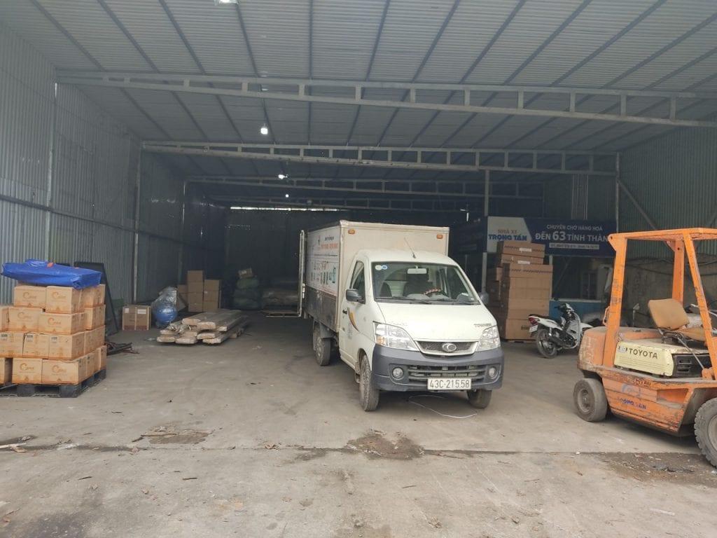 Gửi Hàng Đà Nẵng Đi Đăk Lăk xe nhận hàng tại kho đà nẵng