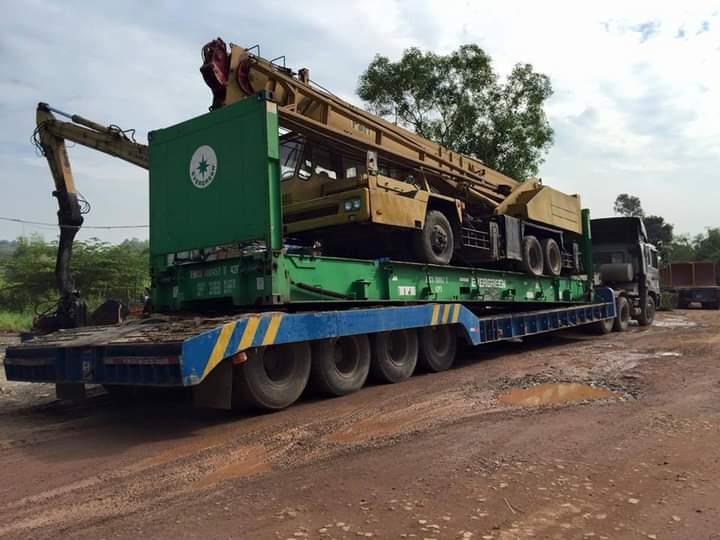 vận chuyển máy móc thiết bị Hà Nội đi Bình Dương giá rẻ