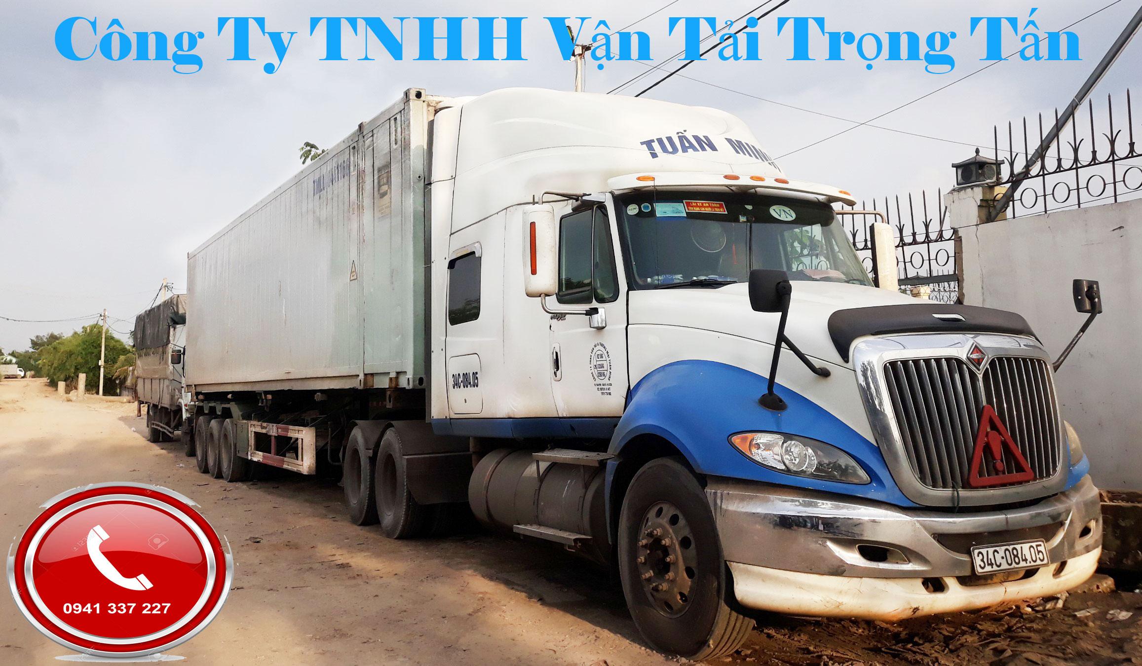 Xe container chuyển hàng Bắc Ninh Tiền Giang
