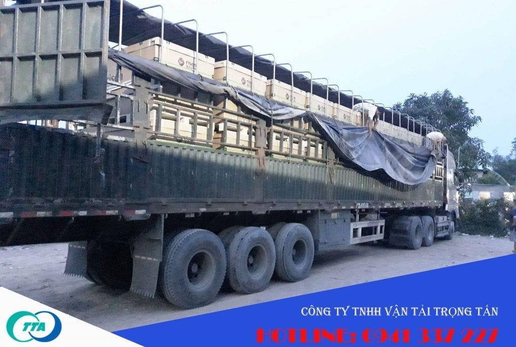 xe container chuyển hàng bắc ninh tân an