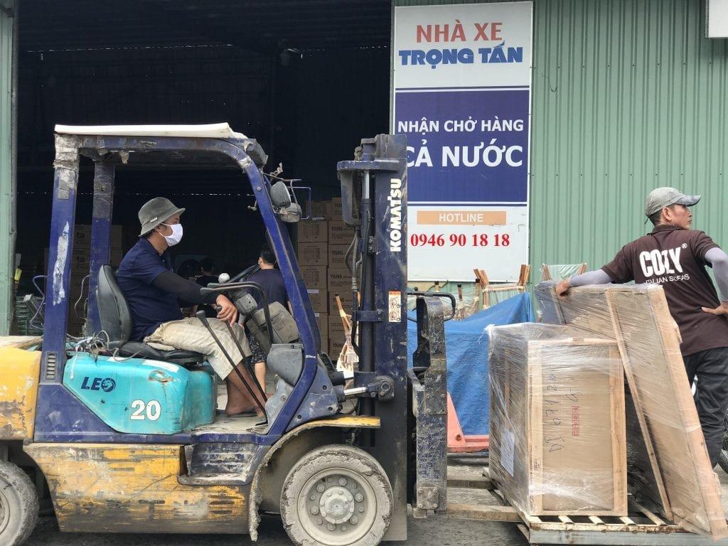 Chành xe gửi hàng Sài Gòn đi Nha Trang
