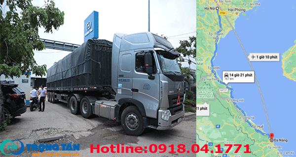 Chành xe gửi hàng Hà Nội đi Cẩm Lệ Đà Nẵng