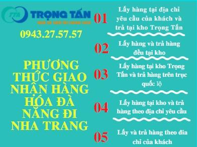 Chành xe vận chuyển hàng hóa Đà Nẵng đi Nha Trang