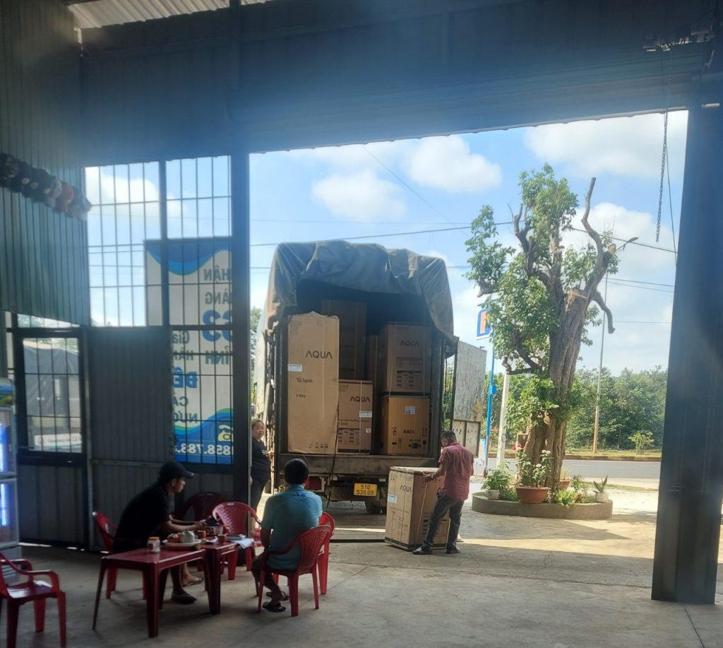 Vận chuyển hàng ghép Gia Lai đi Sài Gòn