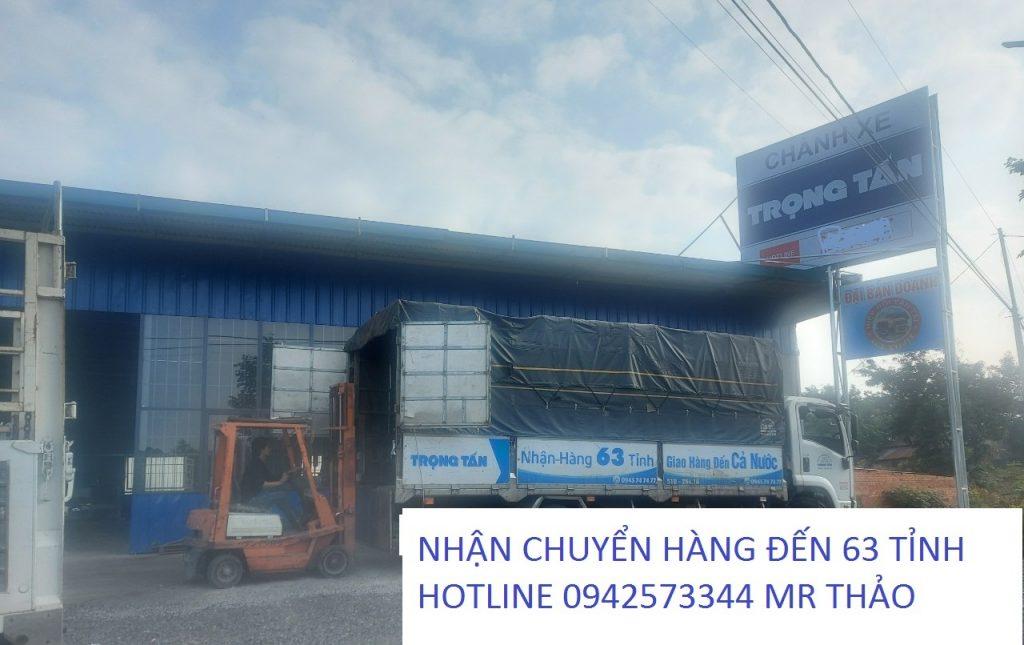 Chành xe Trọng Tấn vận chuyển hàng Gia Lai đi Sài Gòn đến 63 tỉnh