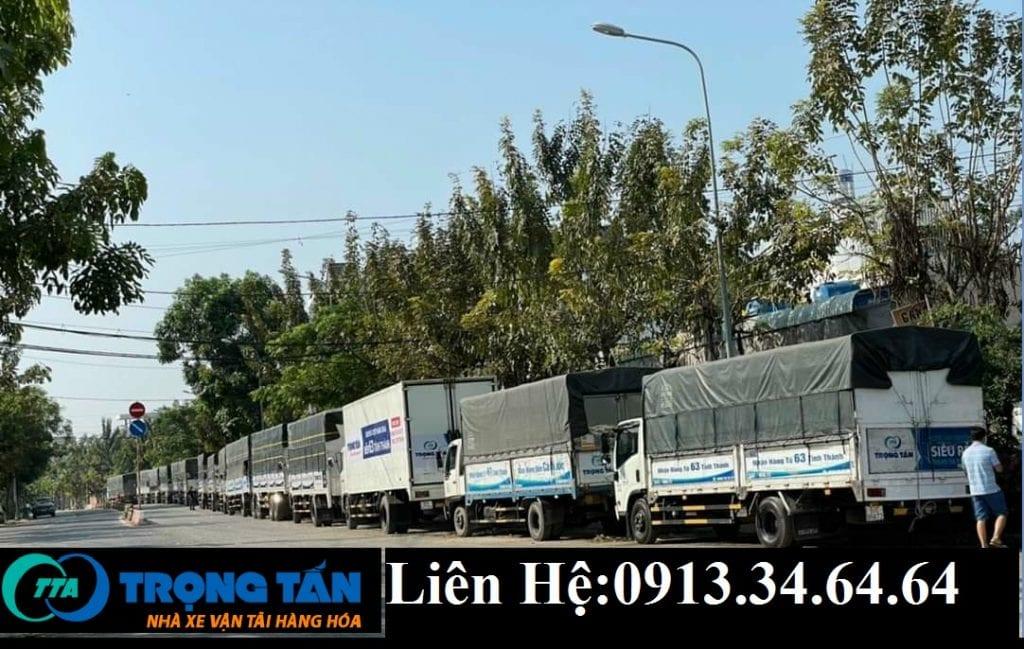Chành xe chở hàng Sài Gòn đi Huế