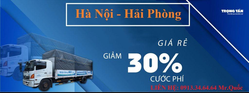chành xe ghép hàng Hà Nội đi Hải Phòng
