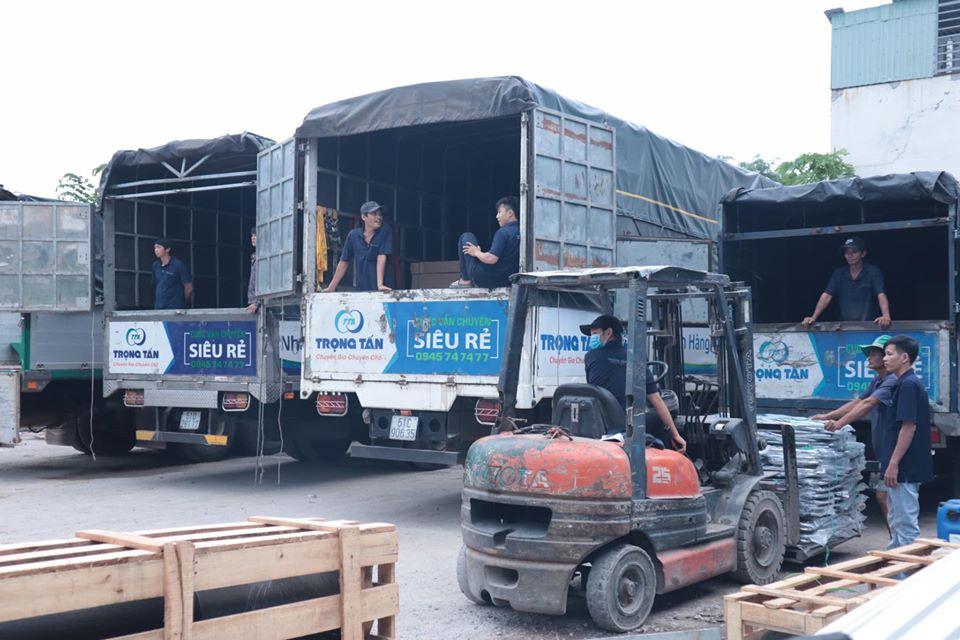 Chành xe ghép hàng HCM đi Nha Trang