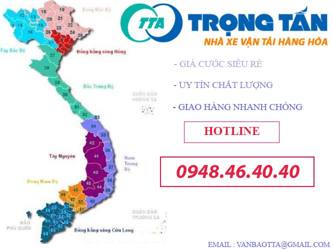 Gửi Hàng Đà Nẵng Đi Đồng Nai trngj tấn nhà xe vận tải hàng hóa