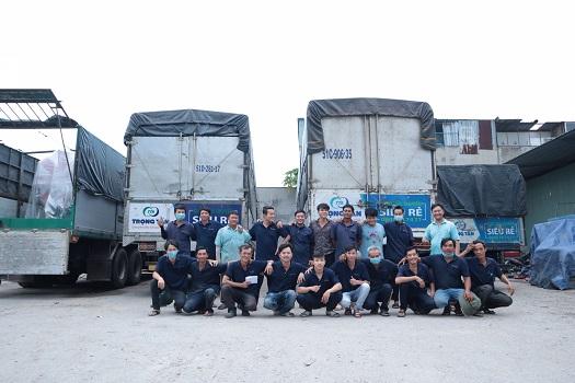 Hàng Đà Nẵng Đi Hậu Giang đội nguc nhân viên kho, nhiều năm kinh nghiệm