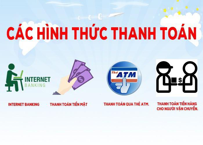 Cách thức thanh toán tại Chành xe gửi hàng đi Sơn Trà Đà Nẵng