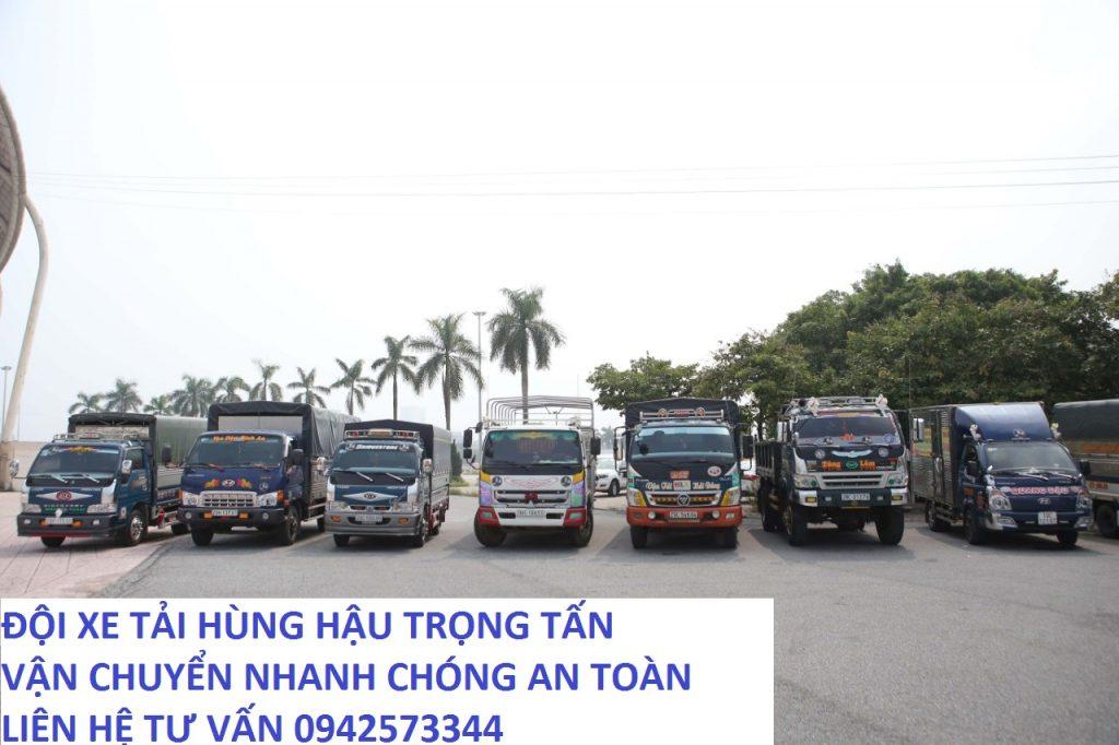 Đội xe tải chuyển hàng Đăk Nông đi Quảng Trị