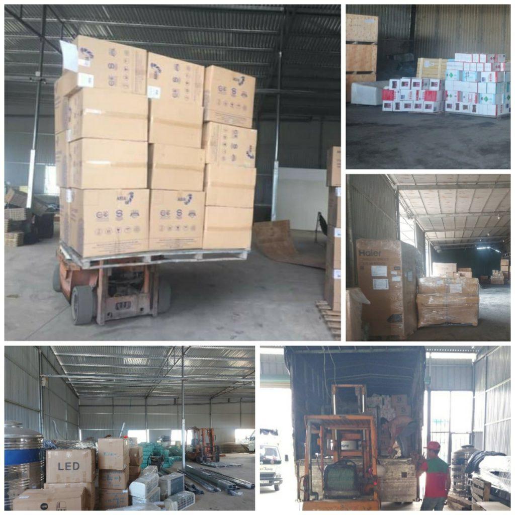 Các loại hàng hóa vận chuyển Bình Dương đi Hà Nội