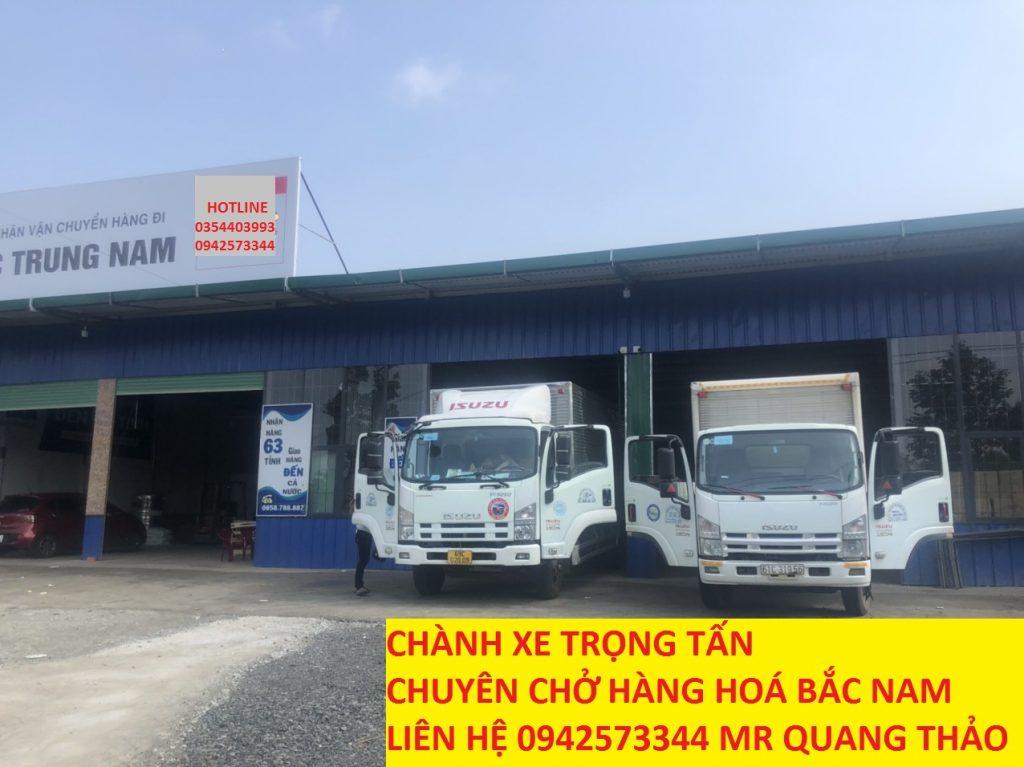 Xe tải công ty Trọng Tấn ghép hàng Kon Tum đi Sài Gòn