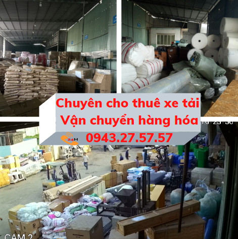 Cho thuê xe tải vận chuyển hàng hóa HCM đi các tỉnh thành