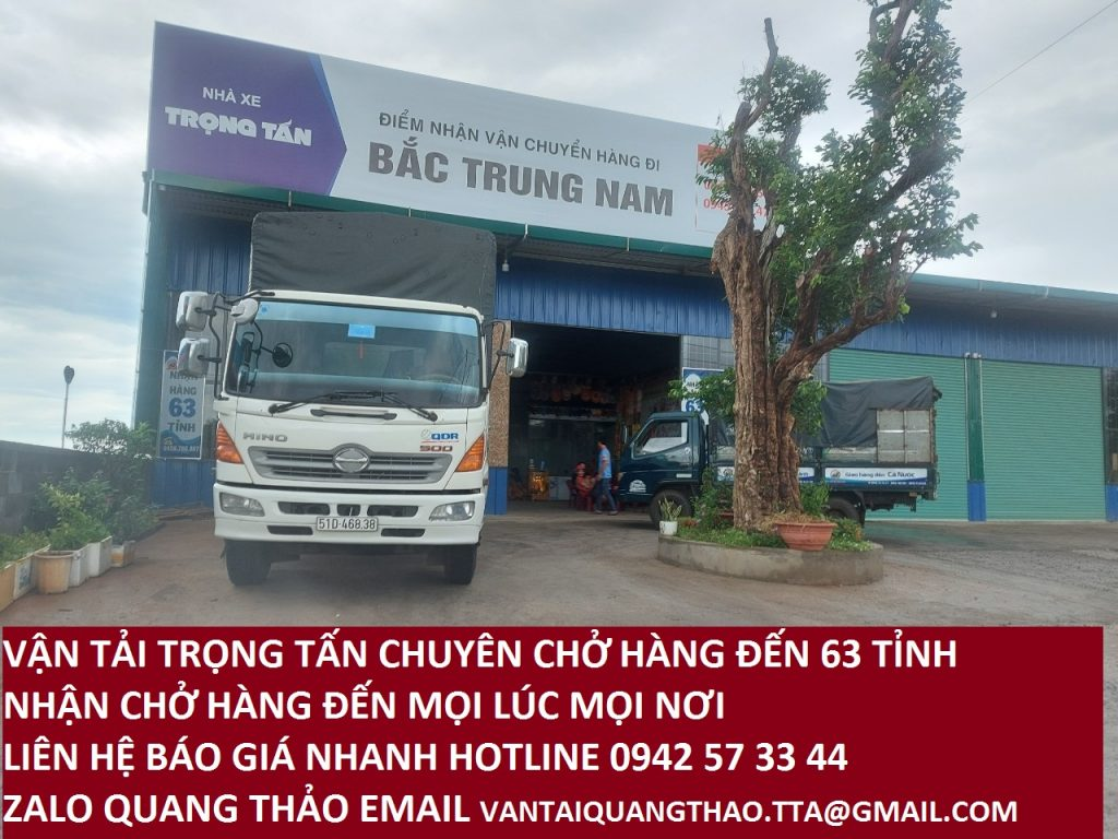 Vận chuyển hàng hoá Bình Dương đi Nam Định