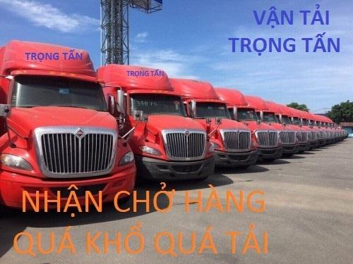 Chành xe Đăk Lăk đi Hà Nội chở hàng quá khổ quá tải