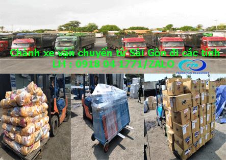 Chành xe chuyển hàng Sài Gòn đi các tỉnh