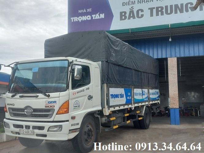 Chành xe gửi hàng Sài Gòn đi Vĩnh Phúc