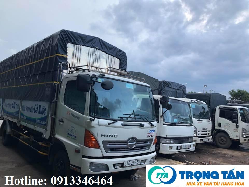 Chành xe gửi hàng từ Sài Gòn ra Hải Phòng