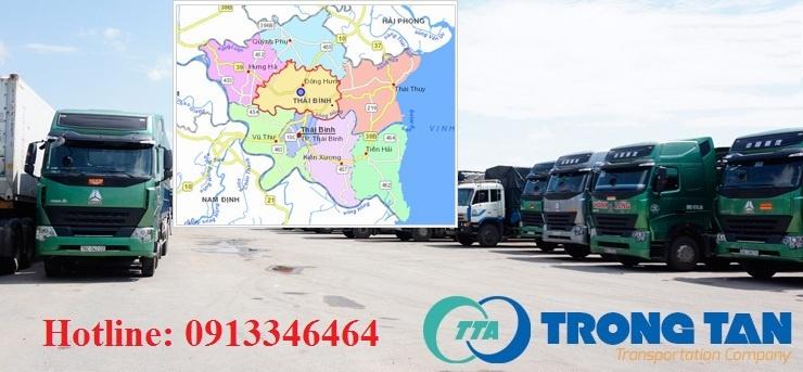 Chành xe vận chuyển hàng ghép Sài Gòn đi Thái Bình