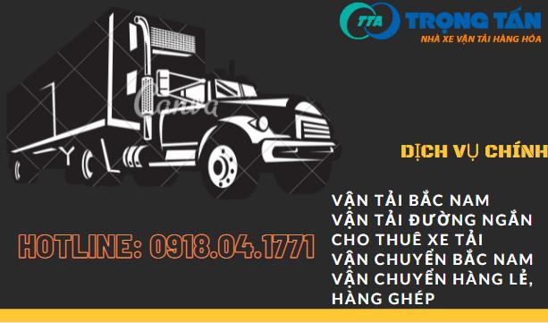 Dịch vụ cho thuê xe tải Trọng Tấn
