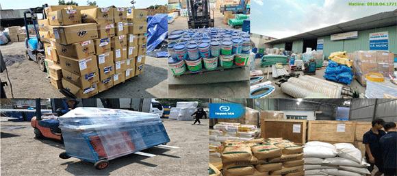 Đa dạng các loại mặt hàng vận chuyển từ Chành xe cho Thuê xe tải đi thị trấn Cẩm Xuyên Hà Tĩnh