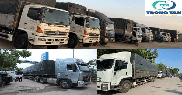Đa dạng các phương tiện cho thuê xe tải chở hàng đi các tỉnh