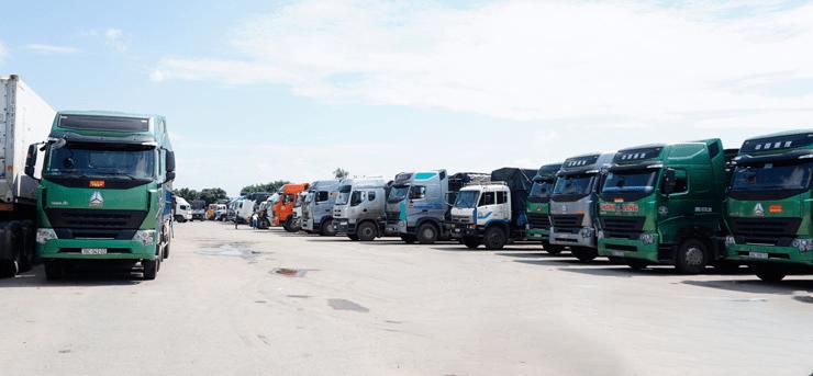số lượng xe tải Trọng Tấn sở hữu dùng để ghép hàng Sài Gòn Quảng Ngãi