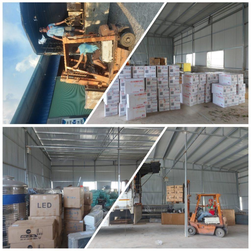 Các mặt hàng vận chuyển Đồng Nai đi Hà Nội