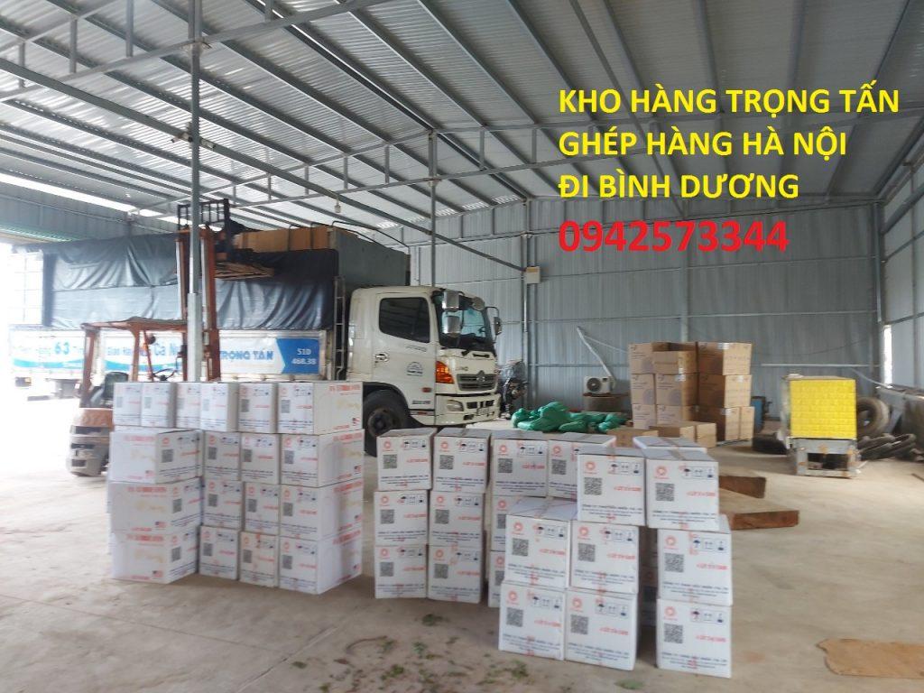 Hàng hóa tại kho Hà Nội đi Bình Dương
