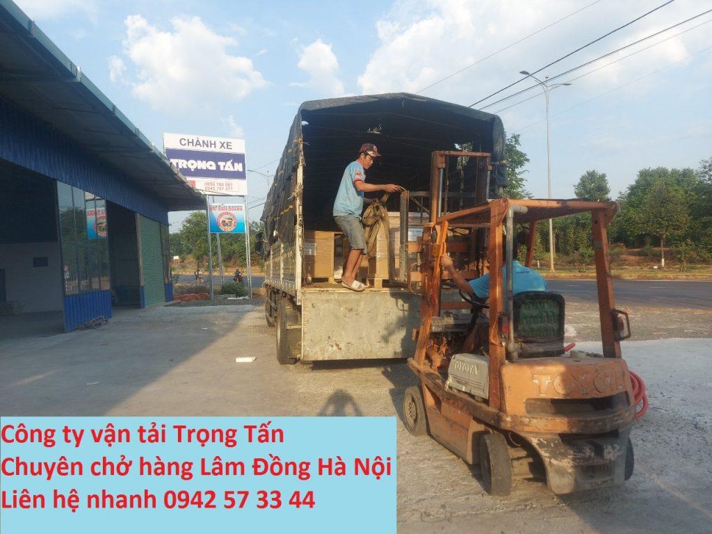 Chuyên nhận hàng Lâm Đồng đi Hà Nội