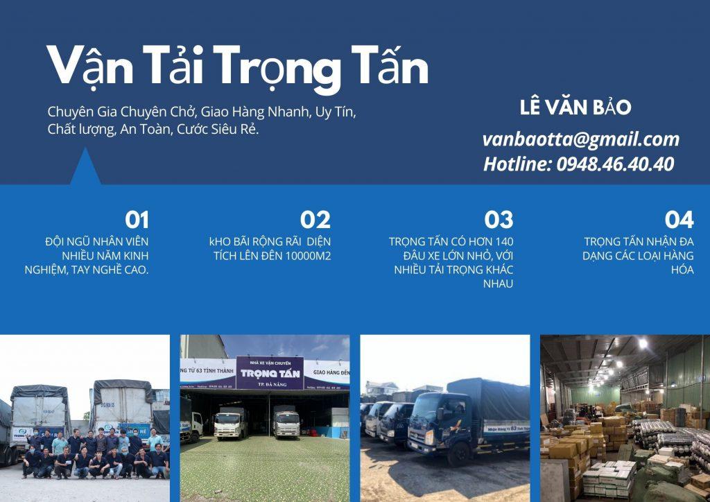 Nhà Xe Vận Chuyển Hàng Đà Nẵng Đi Bến Tre trọng tấn giao hàng nhanh an toàn uy tín