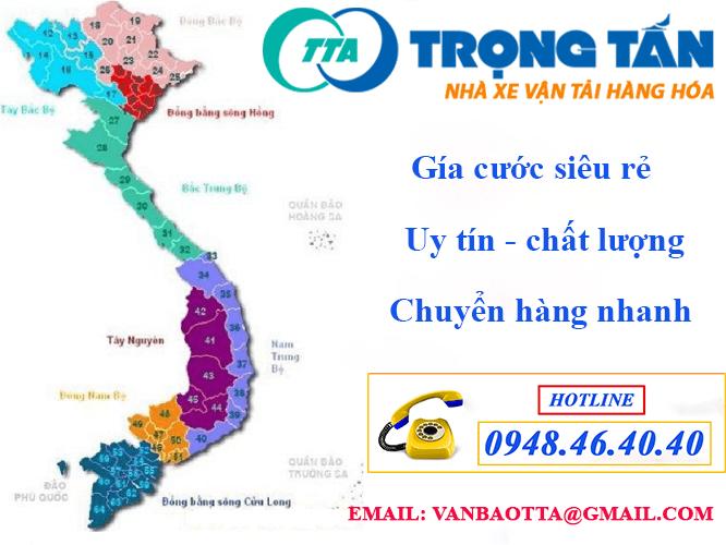 Nhà Xe Vận Chuyển Hàng Đà Nẵng Đi Long An liên hệ hotline để nhận nhiều ưu đãi