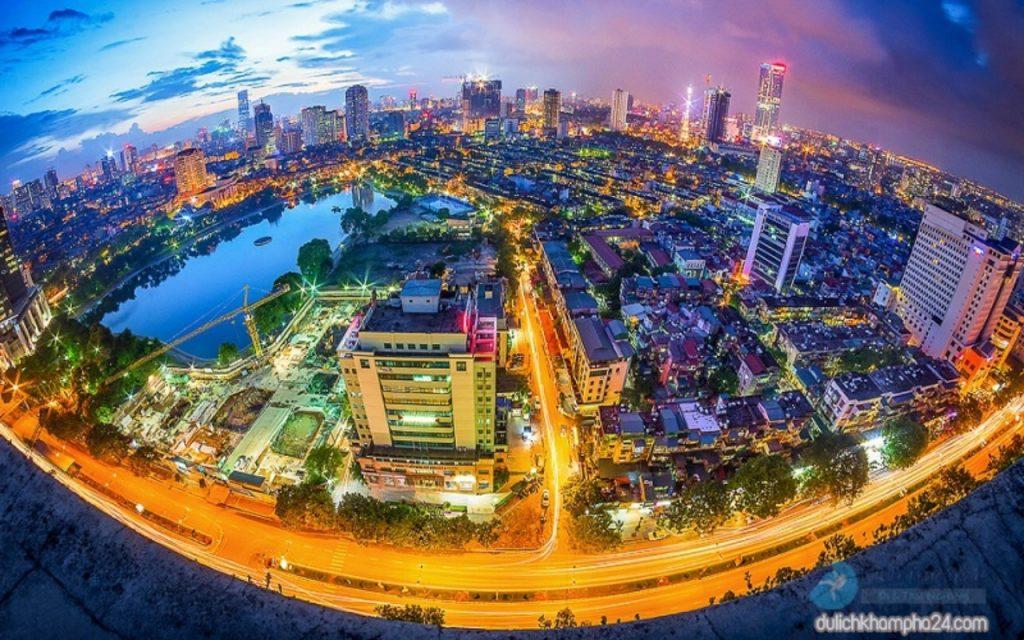 Vị trí địa hình tại thủ đô Hà Nội