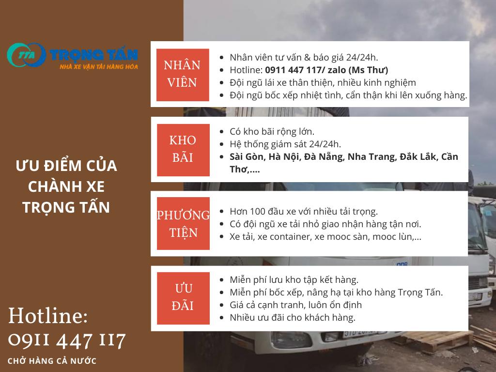 Dịch vụ vận chuyển tại Quận 12 đi Đắk Lắk