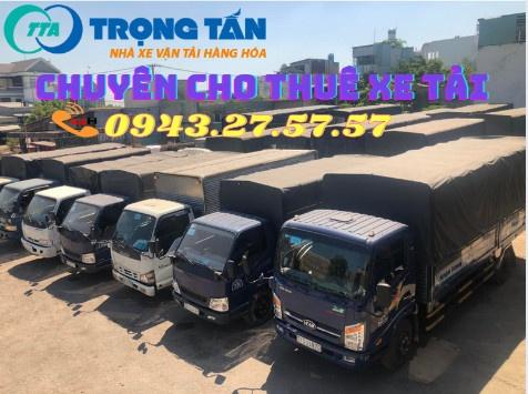 Cho thuê xe tải chở hàng HCM đi các tỉnh thành