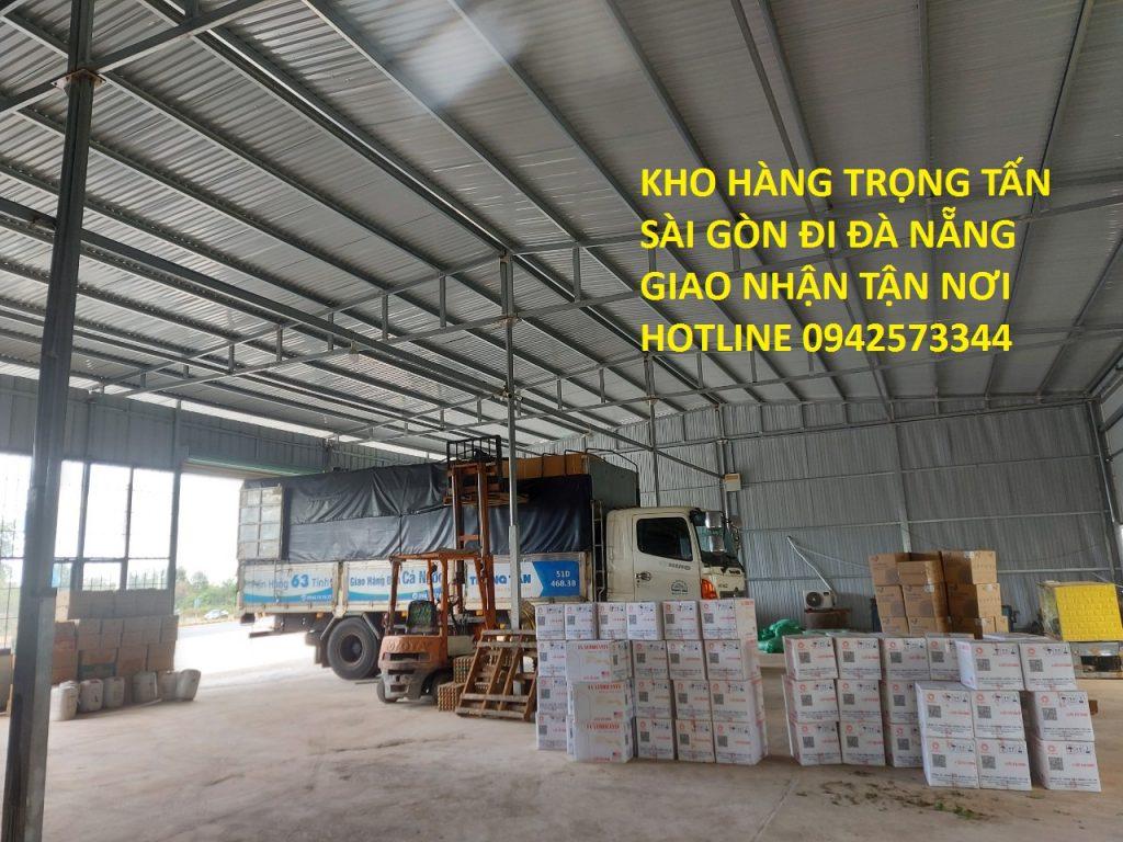 Vận chuyển hàng hóa Sài Gòn đi Đà Nẵng