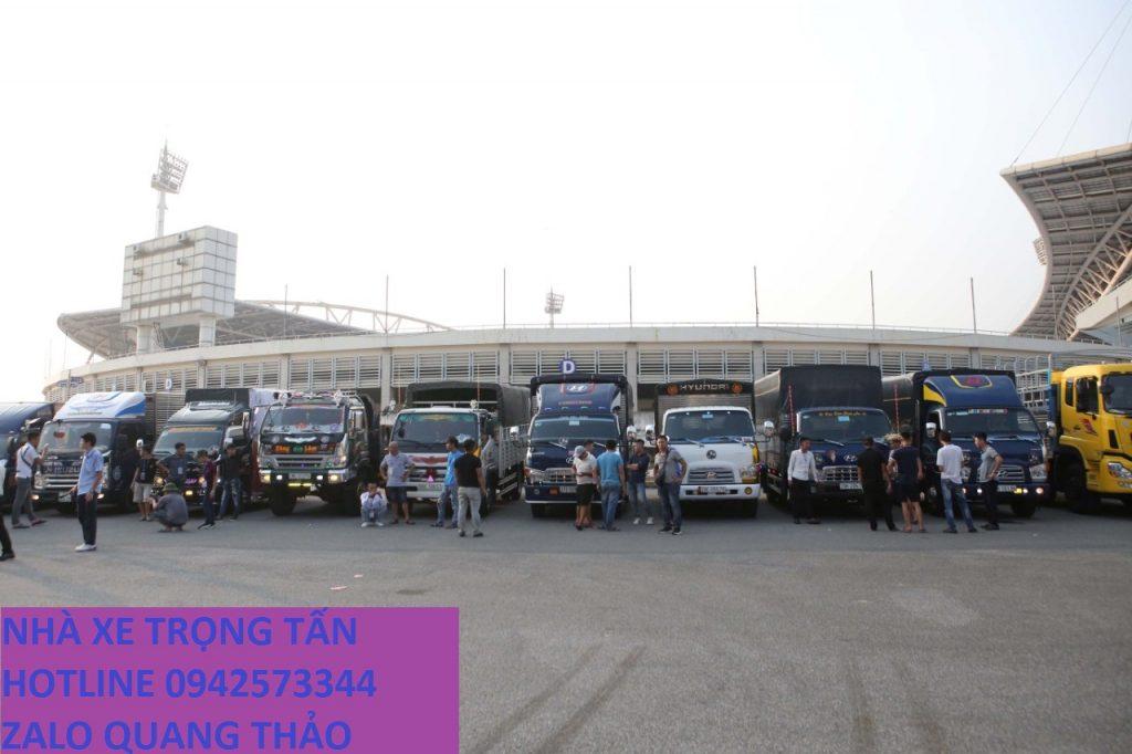 Các loại xe tải chuyển vận chuyển hàng từ Sài Gòn đi Đăk Nông