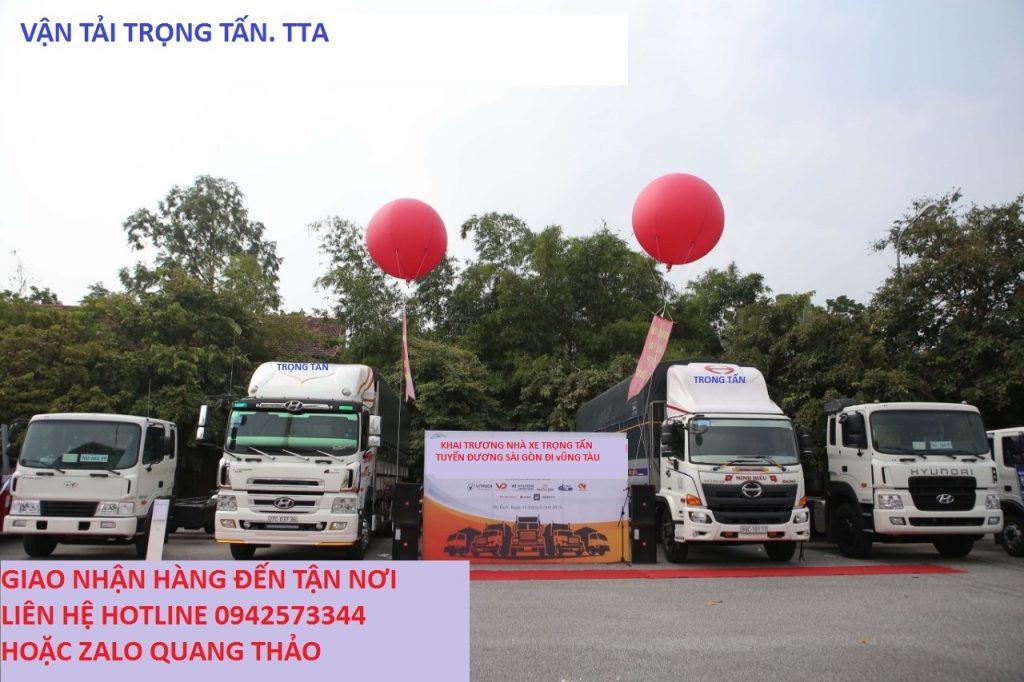 Cho thuê xe tải chở hàng Sài Gòn đi Vũng Tàu
