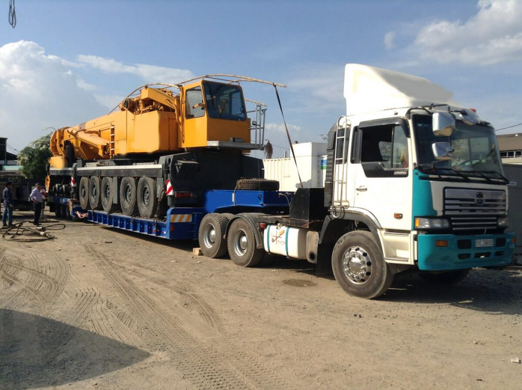 Cho thuê xe tải cho hàng ghép Bắc Nam