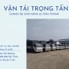 Chuyển hàng Nha Trang đi Hà Nội