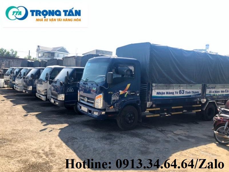 Chành xe chở hàng Sài Gòn đi Thái Nguyên