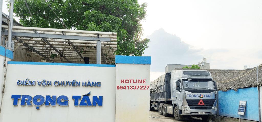 Chành xe Trọng Tấn chuyển hàng đi An Giang